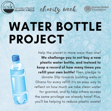 water bottle project